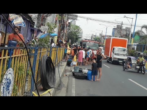 Water situation in Brgy. Addition Hills, Mandaluyong City