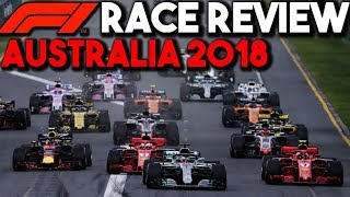 F1 2018 Australian Grand Prix Race Review