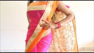 Perfect Bollywood Style Saree Wearing:Quick Stylist Sari Draping Method