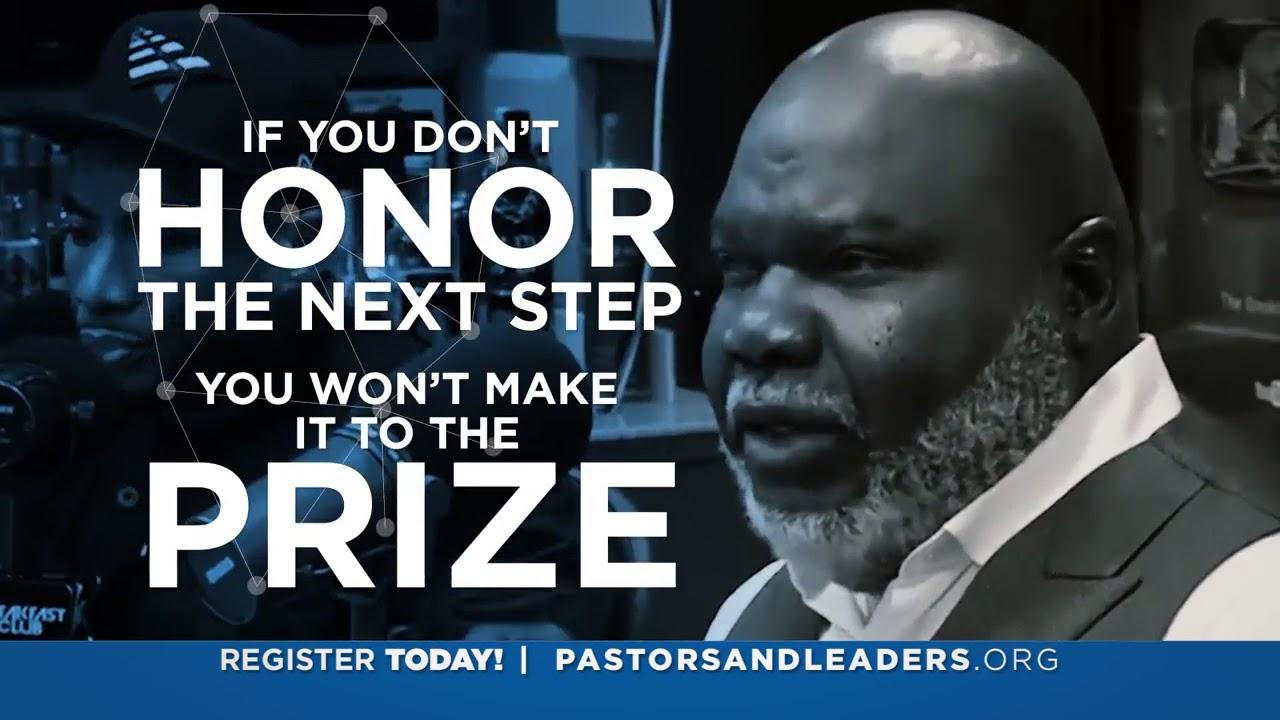Bishop T D  Jakes Presents: Effort to Impact at the International Pastors &  Leadership Conference