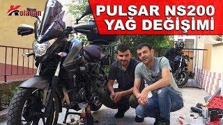 Pulsar NS200 Motosiklet Yağ Değişimi   Bakım Onarım   Kendin Yap