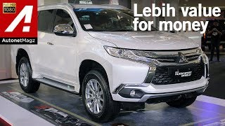 Mitsubishi Pajero Sport Exceed 4x2 AT First Impression Review