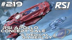 Star Citizen #219 RSI Apollo - Concept Sale & Medical Gameplay [Deutsch]