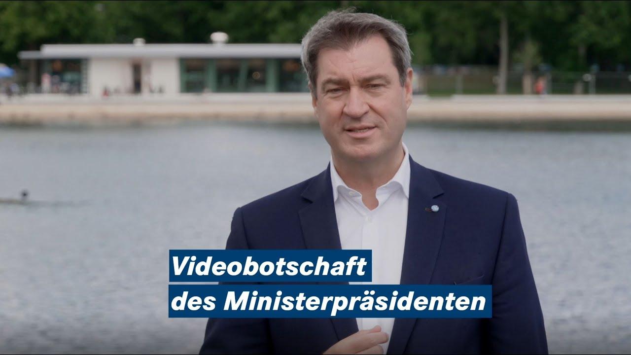 Videobotschaft von Ministerpräsident Dr. Söder zur Fleischerzeugung - Bayern