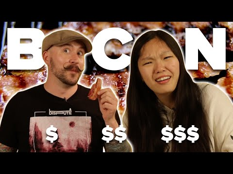 People Guess Which Bacon Is Cheap Vs. Expensive