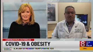 WTNH COVID & Obesity - Dr. Tishler