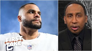 This will be Dak Prescott's final year with the Cowboys - Stephen A. | First Take