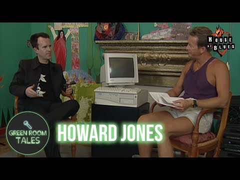 Howard Jones | Green Room Tales