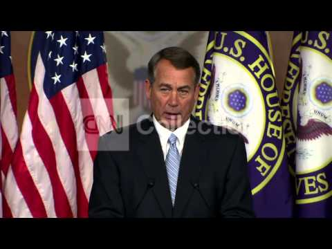 REP BOEHNER:OBAMA LAWSUIT-'NOT ABOUT IMPEACHMENT'