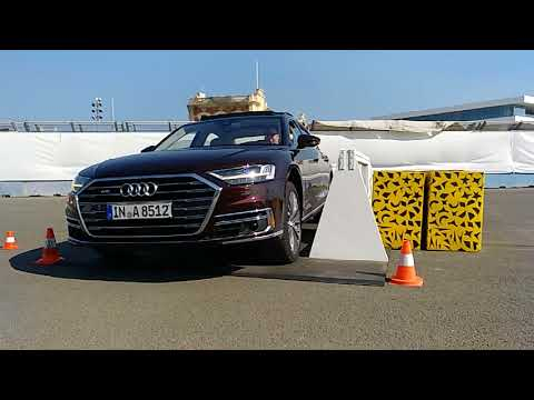 Audi A8 2018 Active Suspension - CosasdeCoches