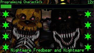 How Will Nightmare Fredbear And Nightmare Work In Ultimate Custom Night?