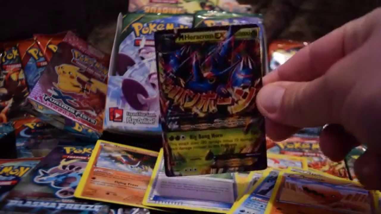 Pokemon Unboxing Furious Fists Epic Pulls Mega Heracross Ex