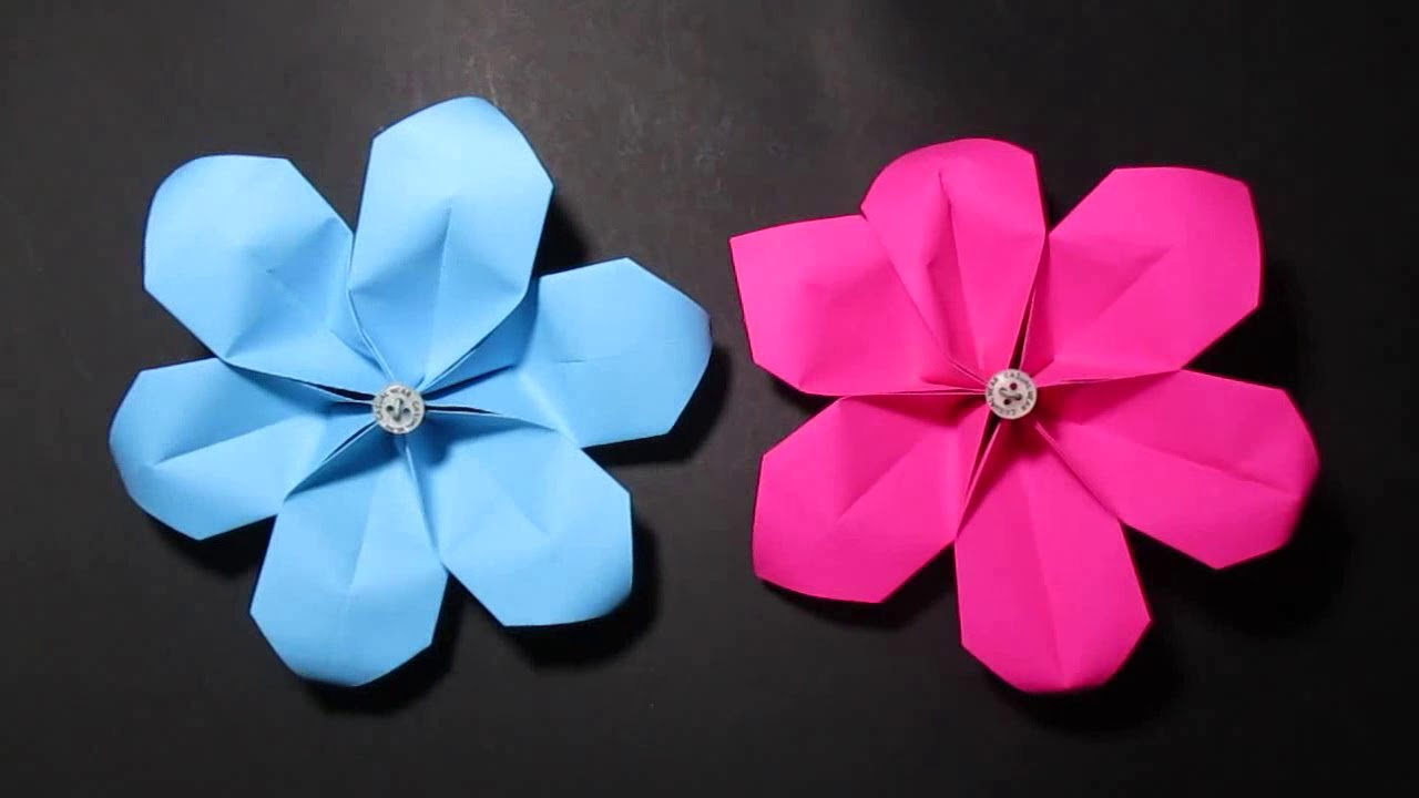 Origami Flower Origami Modular Flower Instructions Easy Steps