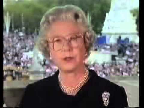 Queen Elizabeth: Diana Princess of Wales tribute