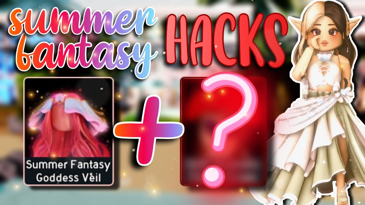 THE SUMMER FANTASY SET OUTFIT HACKS! | Royale High Summer Outfit Hacks!!