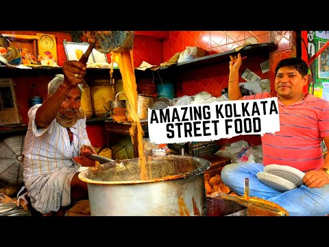 Indian Street Food KOLKATA | Street food fit for a KING in huge Kolkata market |Street food in India