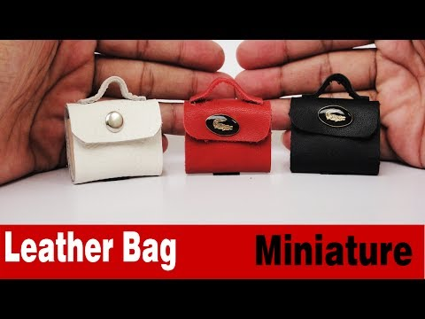 Miniature Handbags DIY  - Accessories Doll Bag with 3 Colors