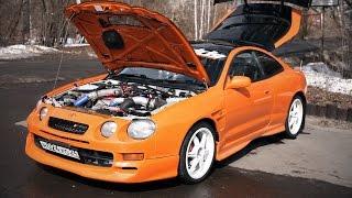 Тойота Селика GT-Four 350л.с.! Злой апельсин. Бахнул мотор.