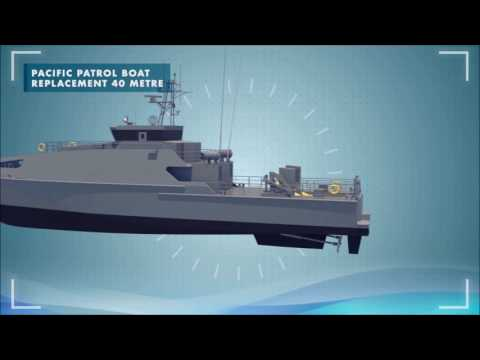 Austal Pacific Patrol Boat (PPB40) - 3D Animation Video