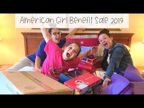 American Girl Benefit Sale 2019 (Day 1) + Haul!