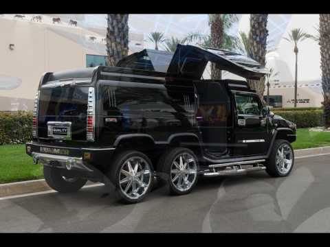 Thumbnail: TANDEM AXLE HUMMER H2 LIMO CONVERSION BY QUALITY COACHWORKS LIMO LIMOUSINE