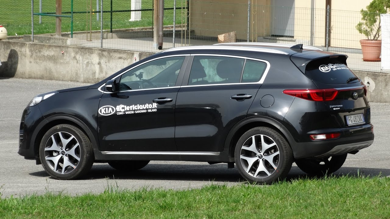 kia sportage gt line 1 7 crdi 141 cv dct test drive youtube. Black Bedroom Furniture Sets. Home Design Ideas