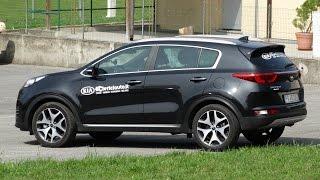 Kia Sportage GT Line 1.7 CRDi 141 cv DCT test drive