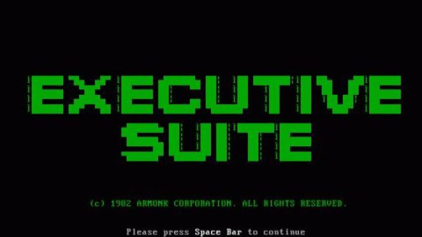 Download Executive Suite simulation for DOS (1982