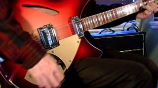 "The Byrds: ""Turn! Turn! Turn!"" (solo guitar) Rickenbacker 360/12 C63 & Vox AC30"