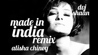Made In India remix | Dvj Shaan | Bollywood Stars | Animated | Alisha chinoy