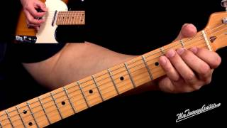 Bayou Blues Style Guitar Lesson