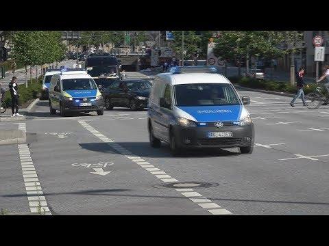 Einsatzfahrten Diensthundeführerkraftwagen Polizei/BPOL