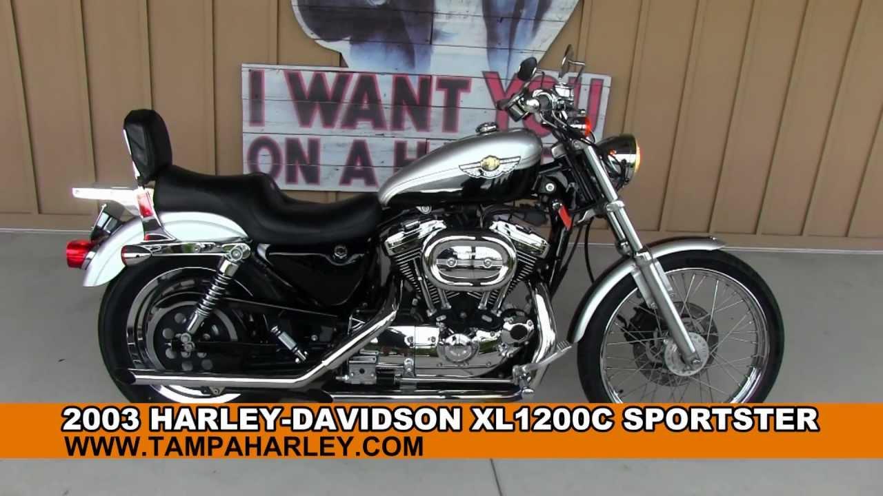 used 2003 harley-davidson xl1200c sportster 100th anniversary