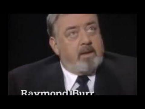 qCharlie Rose s Raymond Burr