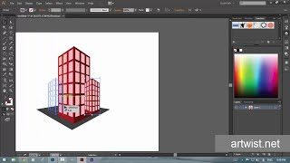 How To Use Perspective tool - Adobe Illustrator