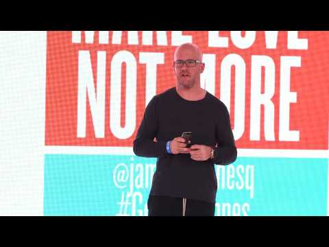 Lightning Talk @ Cannes 2014 - Teaser: Make Love Not More, James Hilton