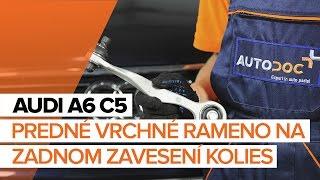 Údržba AUDI V8 (44_, 4C_) - video návod