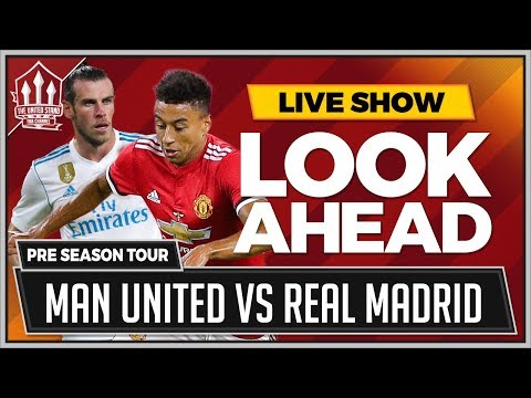 REAL MADRID vs MANCHESTER UNITED Super Cup LIVE Preview | Ga