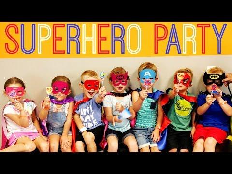 Superhero Birthday Party Ideas: DC Comics & Marvel!   Affordable Super Hero Kids Party!
