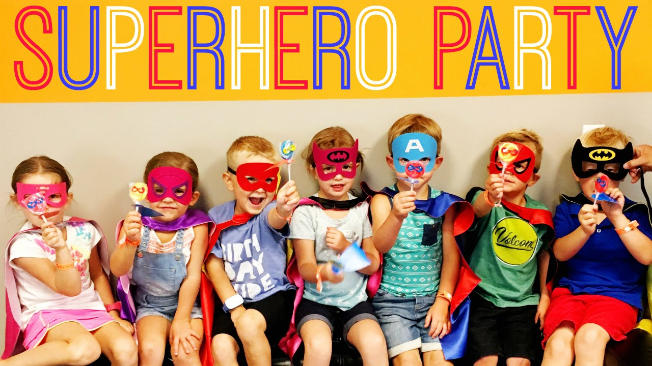superhero birthday party ideas dc comics marvel affordable