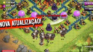 Nova Atualização do Clash Of Clans PERMITE MUDAR DE NOME, TEM NOVA DEFESA E MAIS!