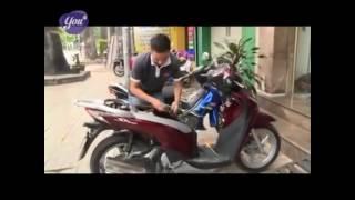 Giới thiệu khóa chống trộm xe tay ga, xe máy Minh - T