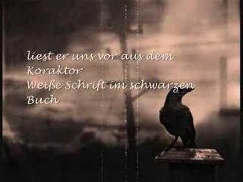 ASP, krabat, KosmiskRevolution, timed, lyric, lyrics, goth, gothic, rock, music