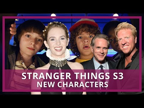 Stranger Things S3 | Meet The New Cast