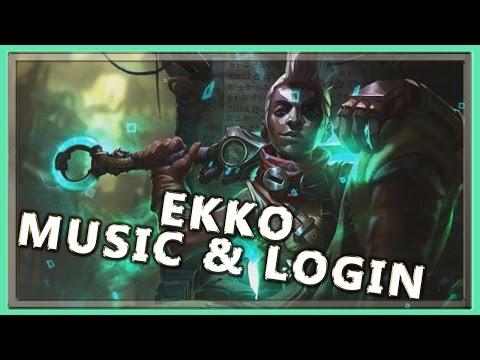 Ekko Login Screen with Music - League of Legends