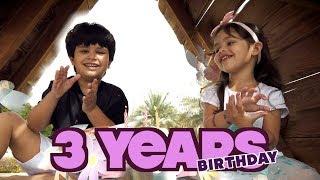 Feliz Aniversário no Parquinho Infantil! - Cantando Parabéns em Inglês Para Clara.