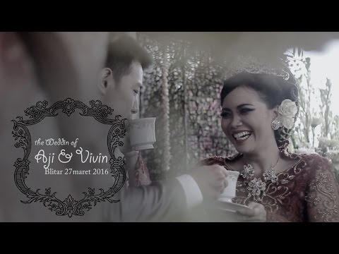 Wedding Klip Romantis I Aji&Vivin I Blitar