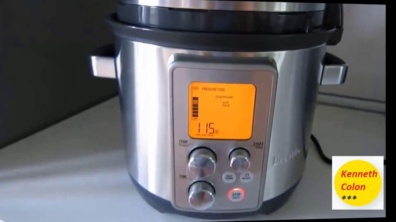 Breville BPR700BSS Fast Slow Pro Multi Function Cooker Review