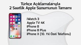 CANLI YAYIN: Apple yeni iPhone'ları tanıtıyor! iPhone X ve sürprizler burada