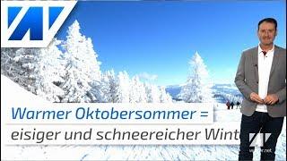 Oktobersommer: Bekommen wir einen eisigen Winter?
